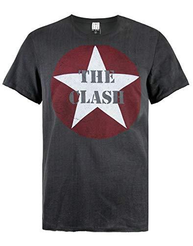 Amplified The Clash Star Logo Mens T-Shirt