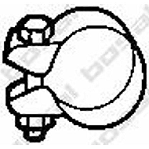 Bosal 250-354 Pièce de serrage, échappement