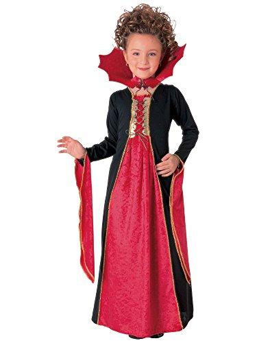 Rubie's Goth Vampirin für Mädchen Halloween Verkleidung Large Large