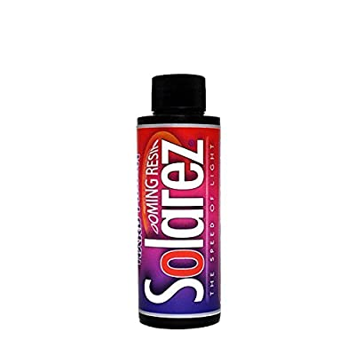 Solarez UV Cure Hard Finish Doming Resin ~ for DIY Jewelry Making Casting & Coating ~ Non-Yellowing, Hard Durable, Scratch-Resistant, Non Tacky, Made in The USA!