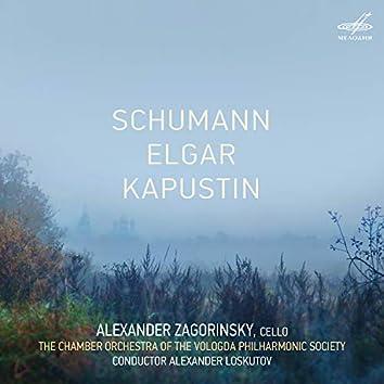 Schumann, Elgar, Kapustin