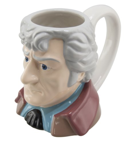 Doctor Who Third Doctor Collectors Ceramic 3D Mug (DR198)