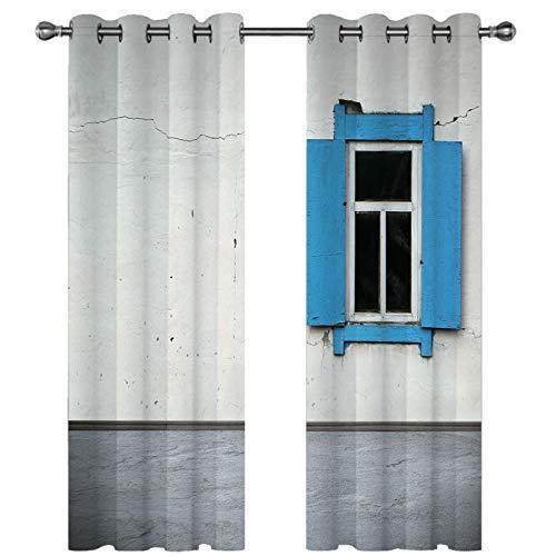 Cortina De Patrón De Puerta De Madera con Impresión Digital 3D Adecuado para Cortinas Opacas para Villas, Hoteles Y Casas De Familia Las Cortinas De Poliéster Se Pueden Lavar