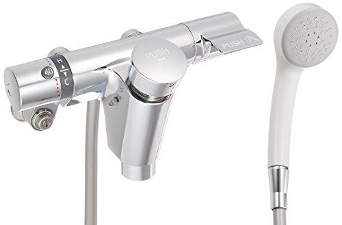 TOTO 浴室用 壁付サーモスタット混合水栓 オートストップ (エアイン) TMF49E4R