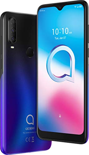 Alcatel 3L 2020 5029D Smartphone (15,8 cm (6,22 Zoll) HD+ Vast Display, 48+5+2 MP Kamera, Dual-SIM, 64 GB Speicher, 4 GB RAM, Android 10) Chameleon Blue