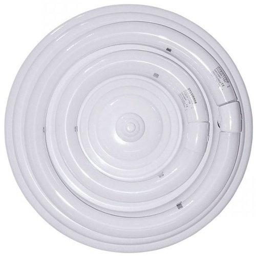 Plafón fluorescente circular 32W. Alta luminosidad y bajo consumo. tubo no incluido