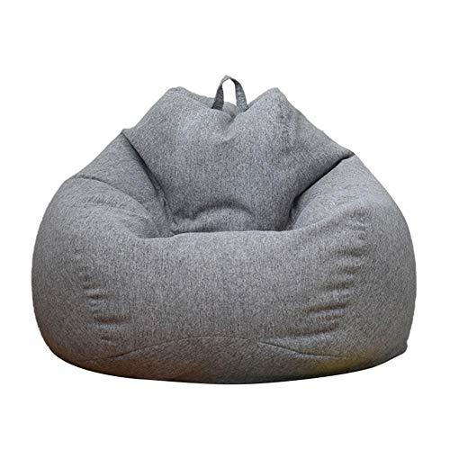Sofabezug Lazy Sofa Sitzsack, Thicken Comfortable Sitzsack, Sitzsack Stuhl Sofabezug Lazy Lounger Bezug Abnehmbarer Lazy Sofa Sitzsack Für Lazy Sofa Indoor Outdoor Sitzsack Stuhl, Mehrere Größen