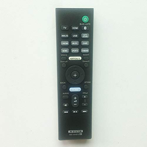 RMT-AH401U Replacement Remote Control Applicable for Sony Soundbar...