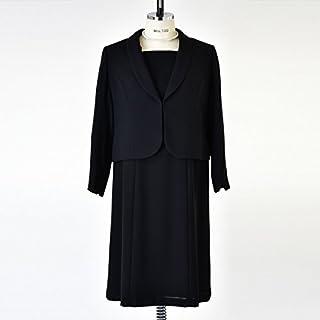 ソリテール(SORITEAL) 【ブラックフォーマル】ゆったりショールカラージャケットアンサンブル/喪服/レディース/礼服
