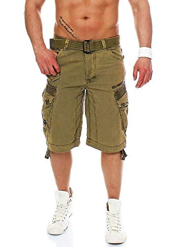 Geographical Norway bermuda shorts Parasol Men, Hosengröße:XXL, Farbe:Mastic
