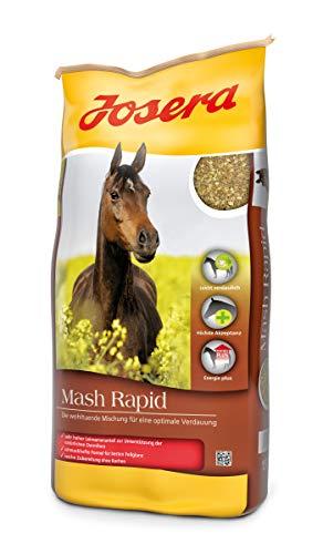 JOSERA Mash Rapid (1 x 15 kg) | Premium Pferdefutter für eine optimale Verdauung | sehr hoher Leinsamenanteil | Mash für Pferde | 1er Pack