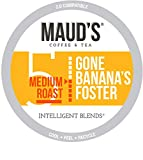 Maud's Banana Foster Coffee (Gone Banana's Foster), 50ct. Recyclable Single Serve Banana Foster...
