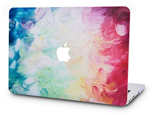 KECC MacBook Air 13 Pulgadas Funda Dura Case Cover MacBook Air 13.3 Ultra Delgado Plástico {A1466/A1369} (Sueño Nocturno)