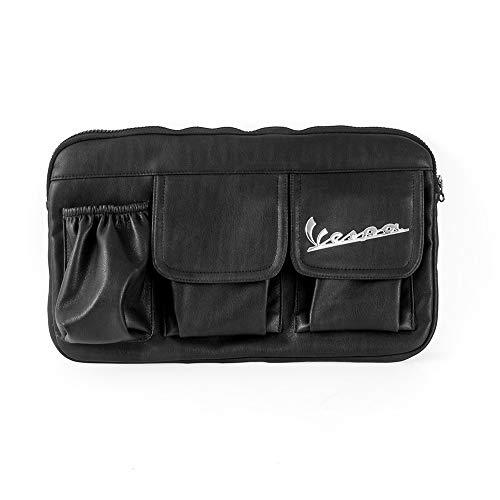 ZMDA Nueva llegada Nueva bolsa de almacenamiento de bolsos de guantes de cuero para PIA.ggio Ves.PA 150 125 200 All Model GTS 300IE SUPER LX 125FL GTS 125IE SUPER GTS 300 Duradero y práctico
