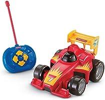 Fisher Price GVY94 - Fernlenkflitzer, ferngesteuertes Auto in rot, Motorikspielzeug mit Fernbedienung, Kinder...