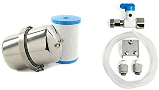 Multipure Aquaversa Model MP750 Drinking Water System With Inline Connecting Hardware