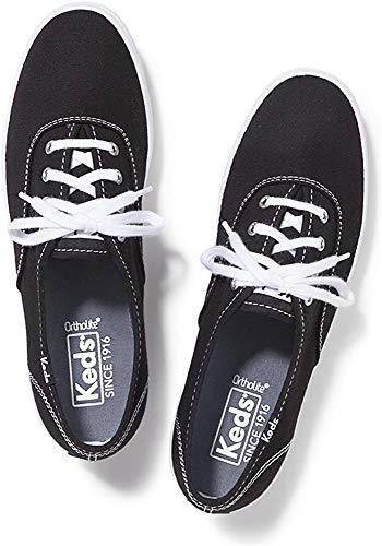 Keds Damen CHAMPION CVO CORE CANVAS Sneakers, Schwarz (Black), 36 EU