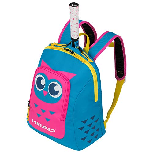 HEAD Unisex-Youth Kids Backpack Tennis Bag, Blue/Pink, One Size