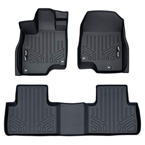 MAXLINER Custom Fit Floor Mats 2 Row Liner Set Black for 2019 Acura RDX All Models