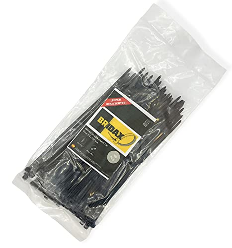 BRIDAX - Bridas plástico resistentes - sujeta cables - organizador cables -...