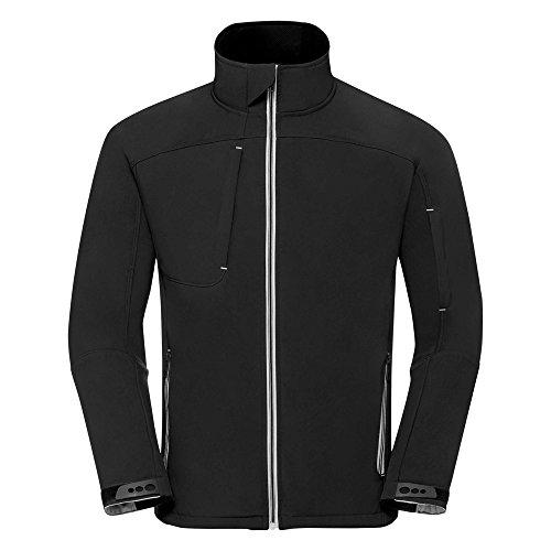 Russell r410m-36-s Herren BIONIC Softshell Jacke, kleine Größe, Schwarz