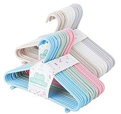 6 Farben Babykleiderbügel Set,36 Stück
