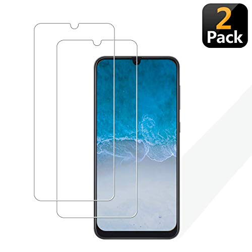 [2-Pack] NUU Mobile X6 Screen Protector, Tempered Glass [ Scratch-Resistant ] [ Touch Sensitive ] [ Easy Install ] 9H Hardness Screen Protector for NUU Mobile X6