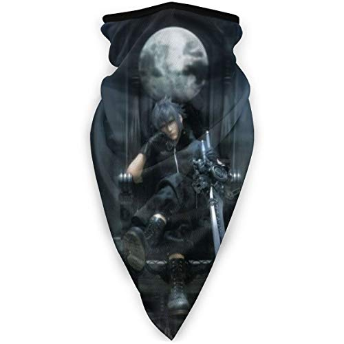 Yellowbiubiubiu Final Fantasy Maske Stirnband Bandana - Outdoor Kopfbedeckung, Schal Bandana, Breite, Headwrap Balaclava Tube Multifunktional