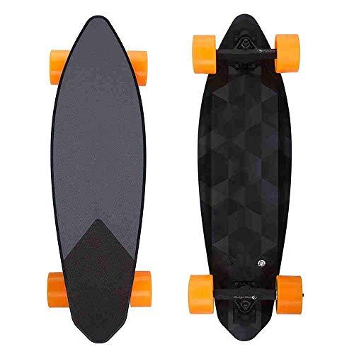QX Roller Vierrad Elektro Skateboard, Drahtlose Fernbedienung Elektro Skateboard Longboard Hoverboard Einrad