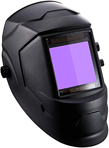 Valens Welding Helmet,Solar Powered Lithium Battery Welding Helmet,4 Sensors 100mmx93mm Large Window...