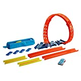 ​Hot Wheels Track Builder Unlimited Adjustable Loop Pack for Kids 6 Years Old & Up with 1 Hot...