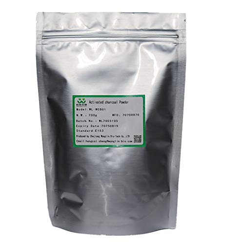 Activated Carbon Powder 100% Plant Carbon Black Natural Coconut Shell Powder Bamboo Charcoal Powder Pharmaceutical Grade Edible