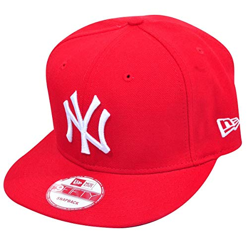 BONE 950 NEW YORK YANKEES MLB ABA RETA VERMELHO NEW ERA