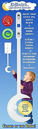 KidSwitch Award-Winning Light Switch Extender for Children & Toddlers - Original Style 3 Pack