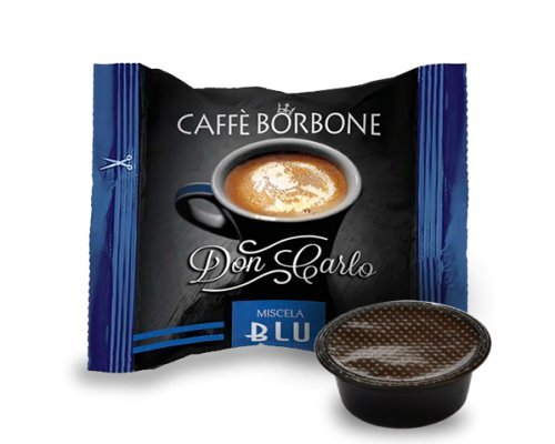 300 Kapseln Borbone Don Carlo blau kompatibel zu A modo mio