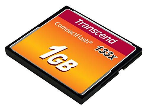 Transcend TS1GCF133 1GB 133X Compact Flash Card