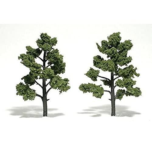 Woodland Scenics Light Green Ready Made Trees 5' -...