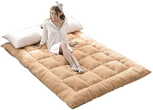 KMatratze Almohadilla de Dormir Japonesa, colchón de Estera Suave del futón del Tatami para el colchón Plegable del Estudiante colchón de Tatami para Adultos (Color : F, Size : 180x200cm(71x79inch))