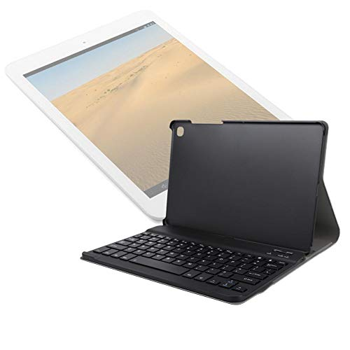 Bindpo Bluetooth Keyboard with Case,Tablet Bluetooth Keyboard with Foldable Cover Fit for Samsung for Galaxy Tab S5e SM-T720,American English Keyboard