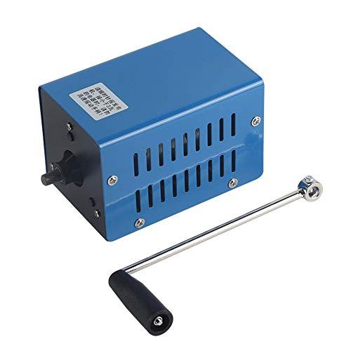 Triamisu Generador manivela Manual multifunción portátil