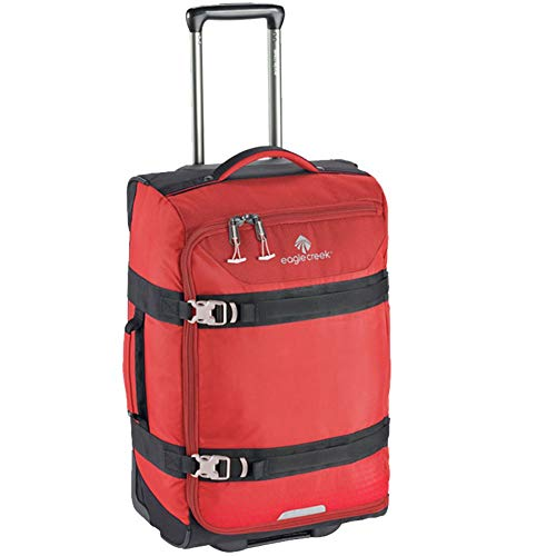 eagle creek Unisex-Adult's Expanse Wheeled Carry On Rolling Duffel, Volcano Red Bag, One Size