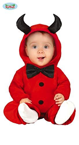 Fiestas Guirca Teufel Pyjama Kostüm kleines Kind Teufel Kostüm für Halloween