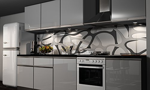 Küchenrückwand Folie selbstklebend Spritzschutz Fliesenspiegel Deko Küchenzeile Style   mehrere Größen
