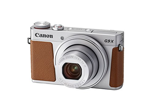 Canon 2422H63 PowerShot G9 X Mark II Digital Camera - Silv
