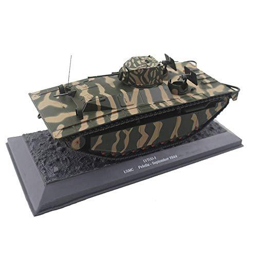 LHJCN Modelo de Metal de Tanque Fundido a Escala 1/43, Tanque Pesado B1-bis ejército francés 1940, Juguetes y Regalos Militares, 5,9 Pulgadas x 2,5 Pulgadas