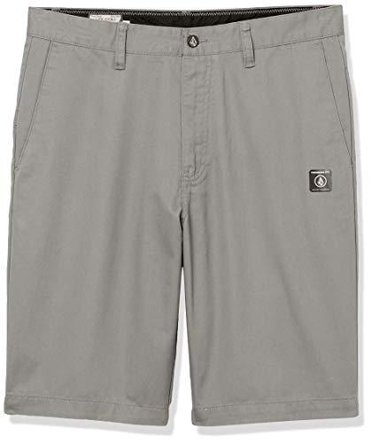 Volcom Men's Vmonty Chino Shorts, Moonbeam, 32