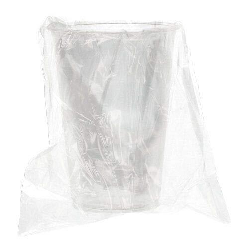 PAPSTAR Kaltgetränkebecher, PLA Pure 0,2 l Ø 7,03 cm, 9,7 cm glasklar einzeln gehüllt 88238 Trinkbecher Einwegbecher einzeln verpackt, 50 Stück