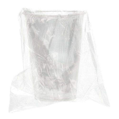 PAPSTAR Kaltgetränkebecher, PLA Pure 0,2 l Ø 7,03 cm, 9,7 cm glasklar einzeln gehüllt 88238 Trinkbecher Einwegbecher einzeln verpackt, 1500 Stück