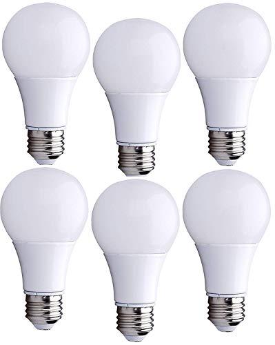 Bioluz LED 40 Watt LED Light Bulbs (Uses 6 Watts) ECO Series Warm White 2700K LED Light Bulbs 6-Pack