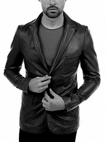 Arturo pelle Giacca uomo tigre, colore: nero
